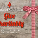 Lindsey's Four Good Reasons To Give Charitably, Aside From Tax Deductions